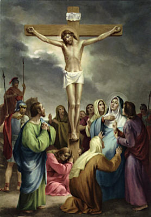 The Cross Of Christ  is the best known religious symbol of Christianity.