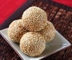 How to make sesame seed ladoo?