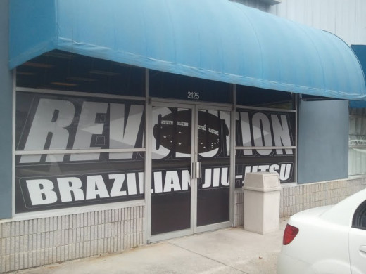 Window tinting is a great way to advertise your BJJ gym