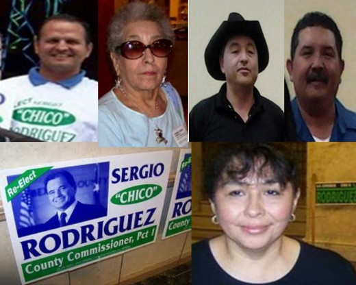 "Brewer,Vargas,Chavez,Wood, Mendelsohn. If they look familiar; Ms. Mendelsohn supported them for school board elections, three of the four were elected. She called the her ""team""."