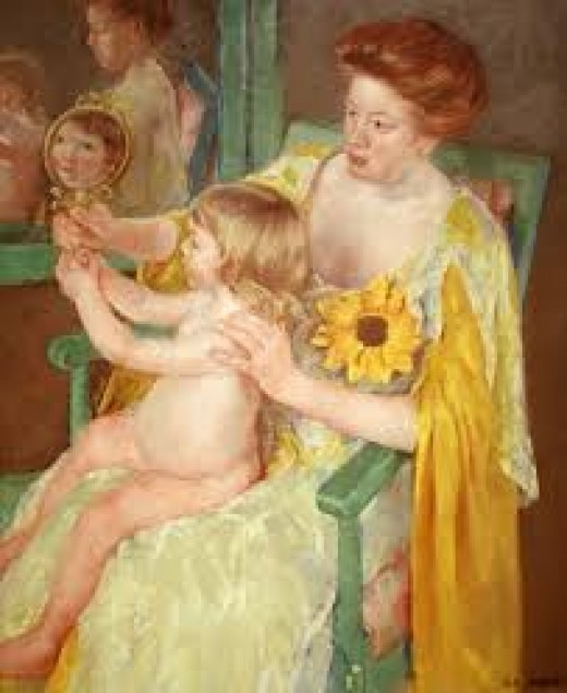 Mother And Child By Mary Cassat - Tips For Single Parenting