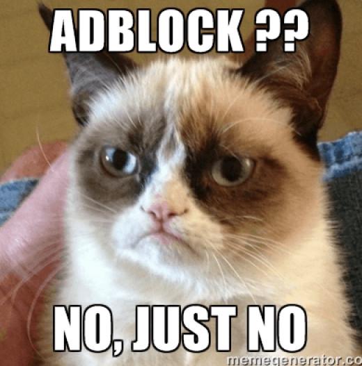 Say no to Adblock!