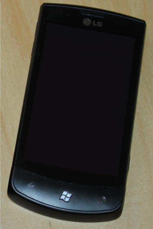 LG Optimus 7-Windows Phone
