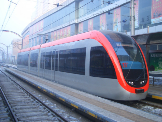 Changchun Light Railway Vehicle manufactured by Tangshan Locomotive and Rolling Stock Works