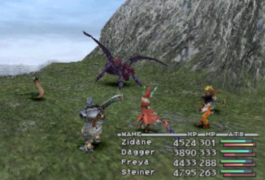 Combat in Final Fantasy IX