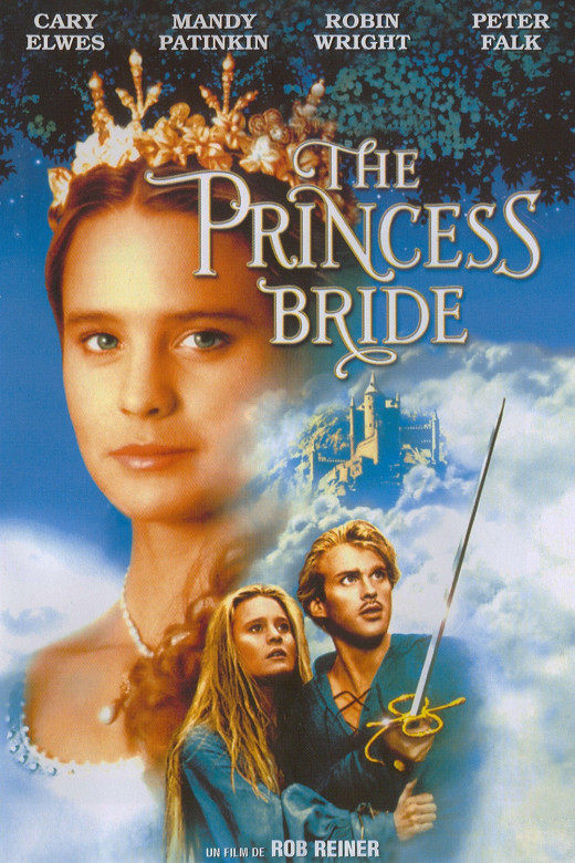 Movie poster for The Princess Bride.