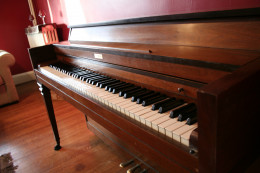 Practice makes perfect with learning songs on the piano.