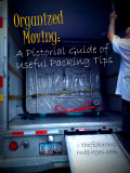Organized Moving: A Pictorial Guide of Useful Packing Tips