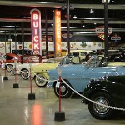 The Tupelo Automotive Museum houses classic coupes and sports cars from the 192's and the 1960's.