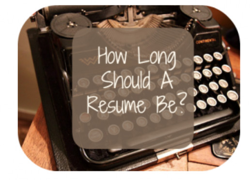 How to prepare a resume.