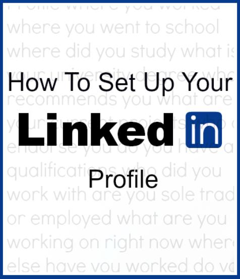 How to set up a LinkedIn profile