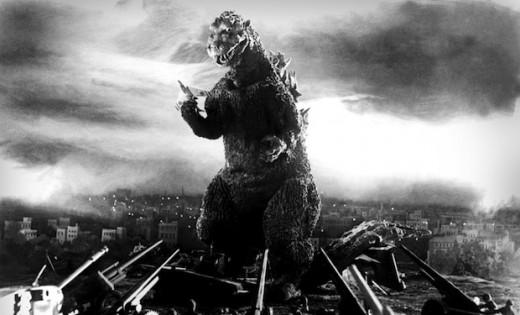 Godzilla in 1954