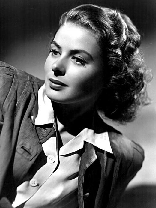 Original studio publicity photo of Ingrid Bergman