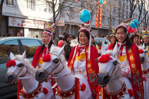 Chinese New Year, which took place in the 13th arrondissement of Paris, France