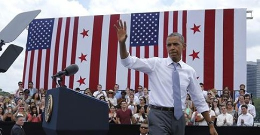 President Obama came into the game with the deck stacked against him.