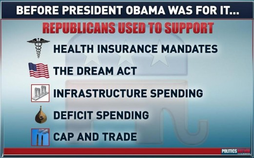 Just a small slice of the GOP's Hypocrisy Pie!