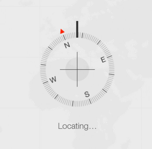 iCloud locating a missing Apple device