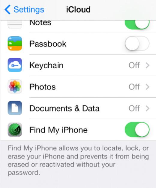 Go to Settings iCloud to setup iCloud account