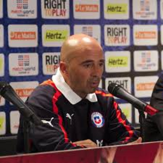 Chile manager Jorge Sampaoli