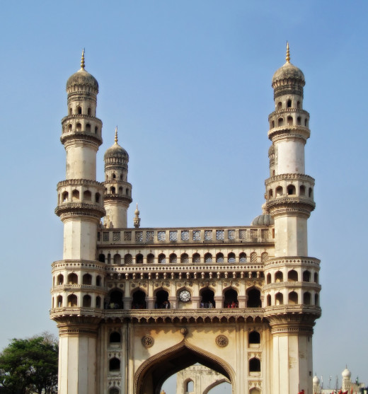 Charminar, a beautiful monument in Hyderabad