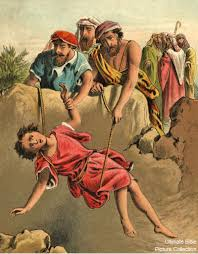 Joseph's brothers mercilessly throws him into the pit and later sold him away to Egypt.