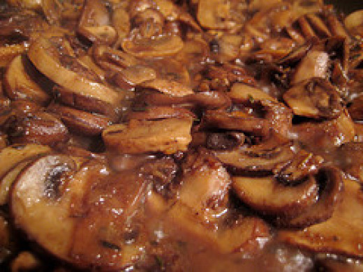 Slow cooker mushrooms are one of the most easy appetizers for a crowd.