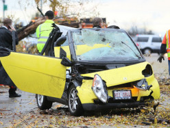 Do you think that a Smart car that gets itself into an accident is really all that smart?