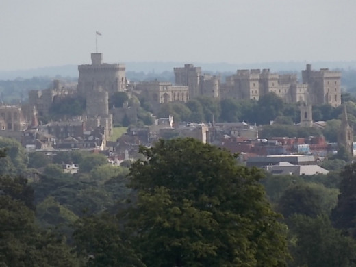 View of Windsor Castle from The Beginning