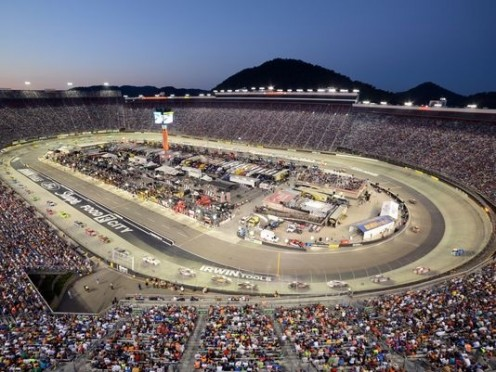 Auto Racing takes place on a regular basis at the Bristol Motor Speedway in Bristol, Va.