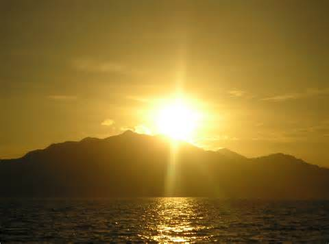 Sun rises not to challenge but to show what darkness has hided