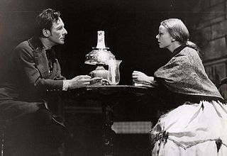 Gielguld and Dolly Haas In The Broadway Production of Dostoevsky's 'Crime And Punishment'