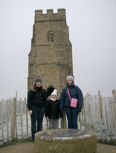 New Year's Eve on the Tor - Cold!
