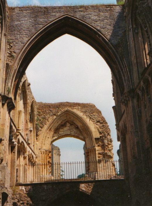 Inside the Main Abbey Walls