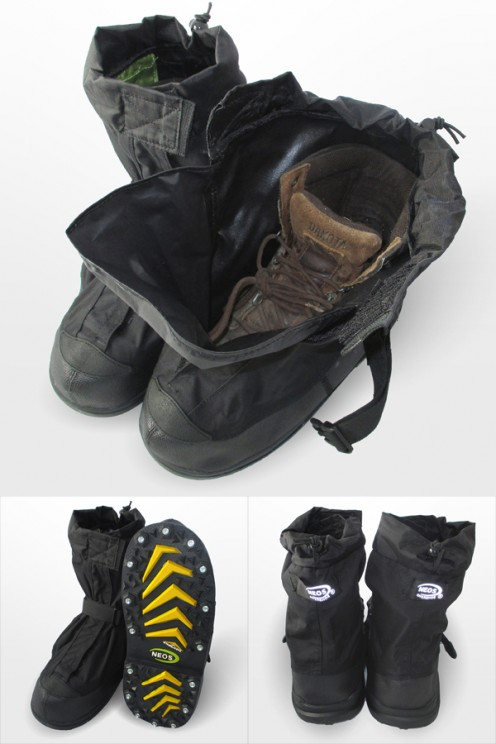 NEOS Overshoes - Light, Compact, Waterproof, Easy to Slide-On Over Any Footwear