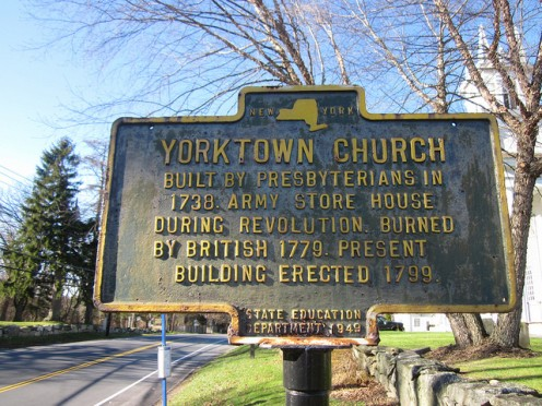 Revolutionary War sites: Yonkers, New York.