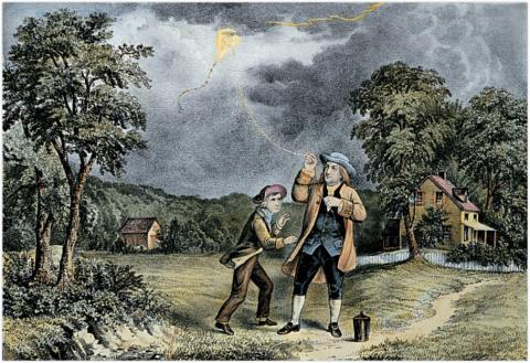 Except for this strange propensity to fly kites in thunderstorms, first Postmaster Benjamin Franklin was actually an exceptionally intelligent individual.
