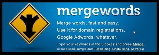 Mergewords tool