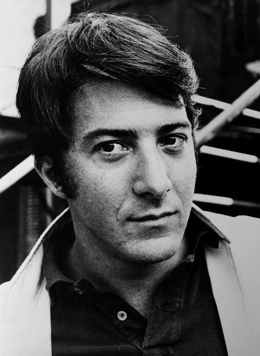 """Dustin Hoffman - 1968"" by Studio - ebay. Licensed under Public domain via Wikimedia Commons."