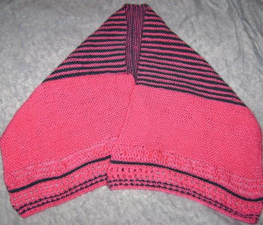 Original design in Caron Simply Soft yarn