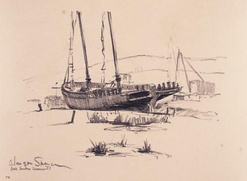Jack London's Boat The Snark?