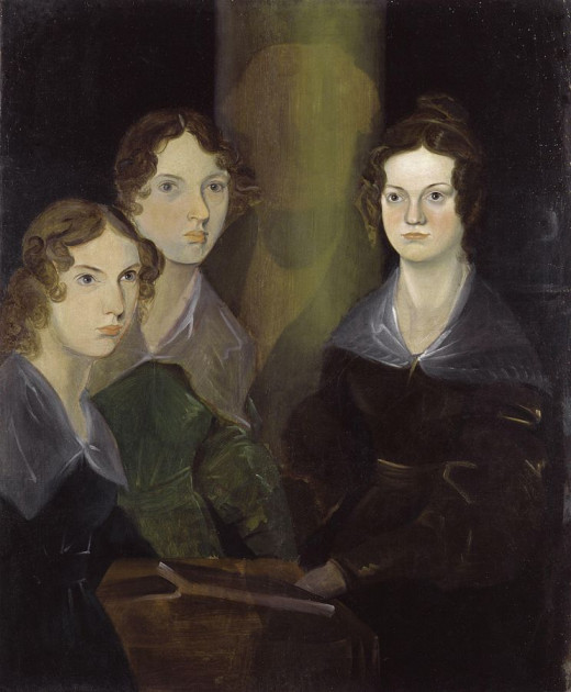 Ann, Emily and Charlotte Brontë used gender free names to publish their works.