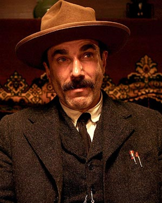 "Daniel Plainview, ""There Will Be Blood"""