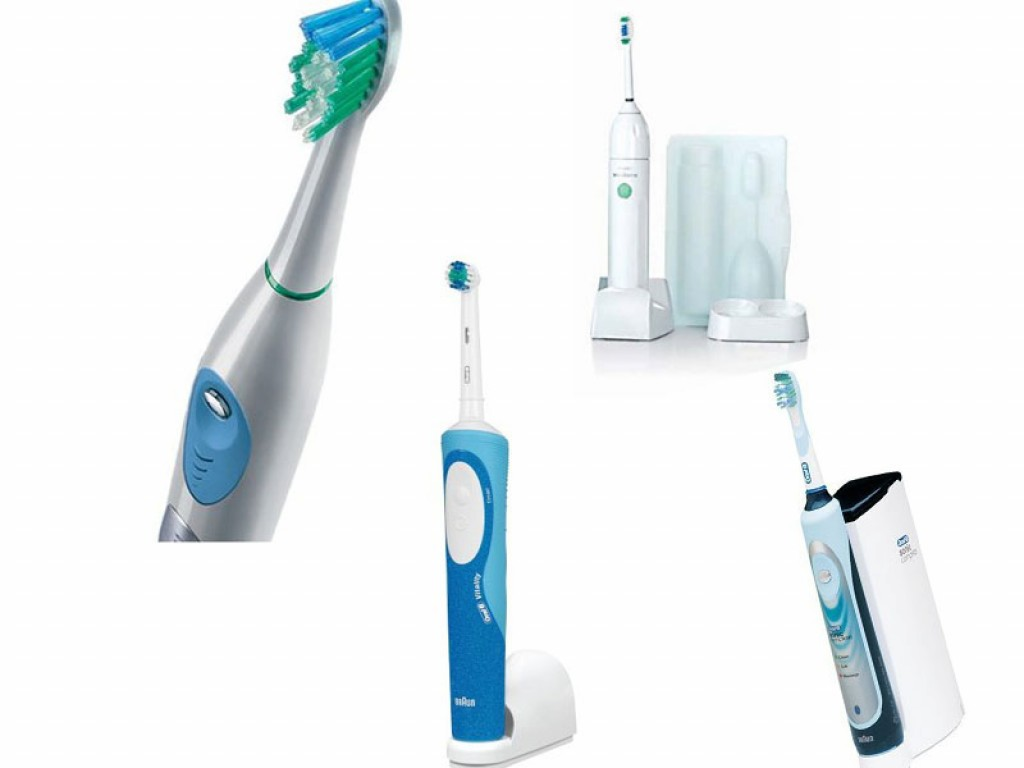Electric Toothbrushes Reviewed Sonicare Waterpik Braun