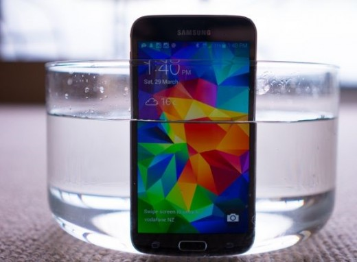 Water-proof Samsung Galaxy S5