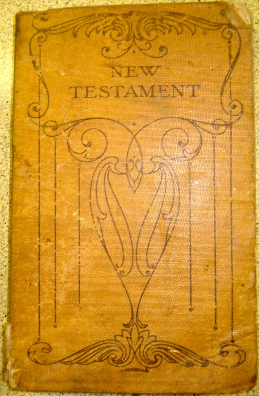 Dad's New Testament from the Great War