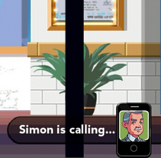 This is Simon calling you on the phone about a new assignment you might want to take.