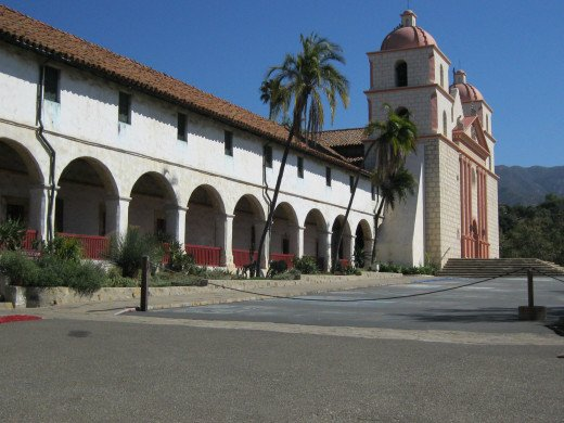 Mission Santa Barbara is the 10th in a series of California missions established along the California coastline.