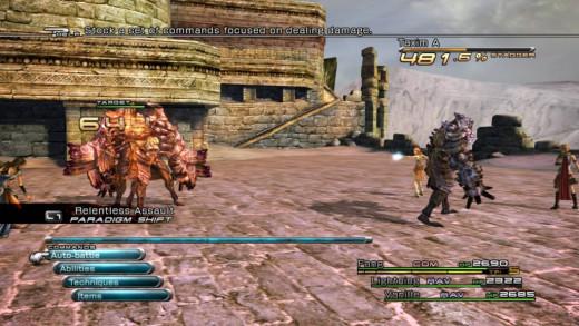 Combat in Final Fantasy XIII