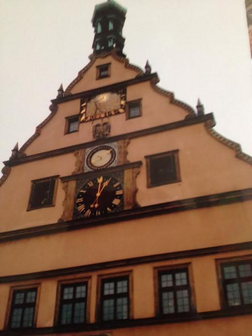 Rothenburg Clocktower