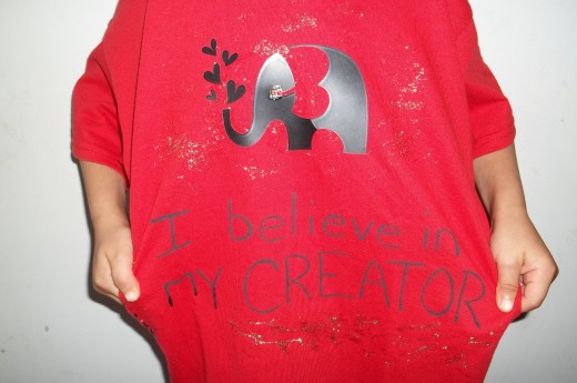 I believe in my Creator
